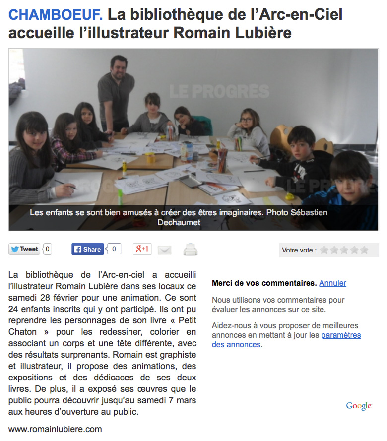 article chamboeuf